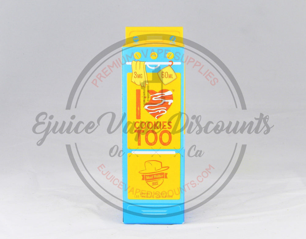 I love Cookies too 60ml