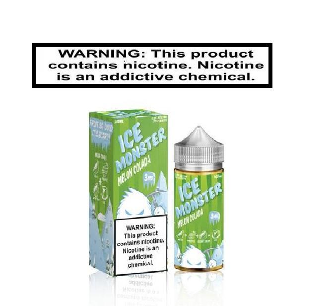 Load image into Gallery viewer, Jam Monster Ejuice 0 Ice Monster Melon Colada by Jam monster 100ml