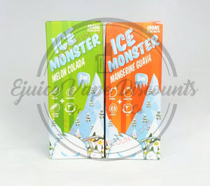 Ice Monster Melon Colada by Jam monster 100ml - Ejuice Vape Discounts