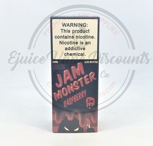 Jam Monster Raspberry 100ml - Ejuice Vape Discounts