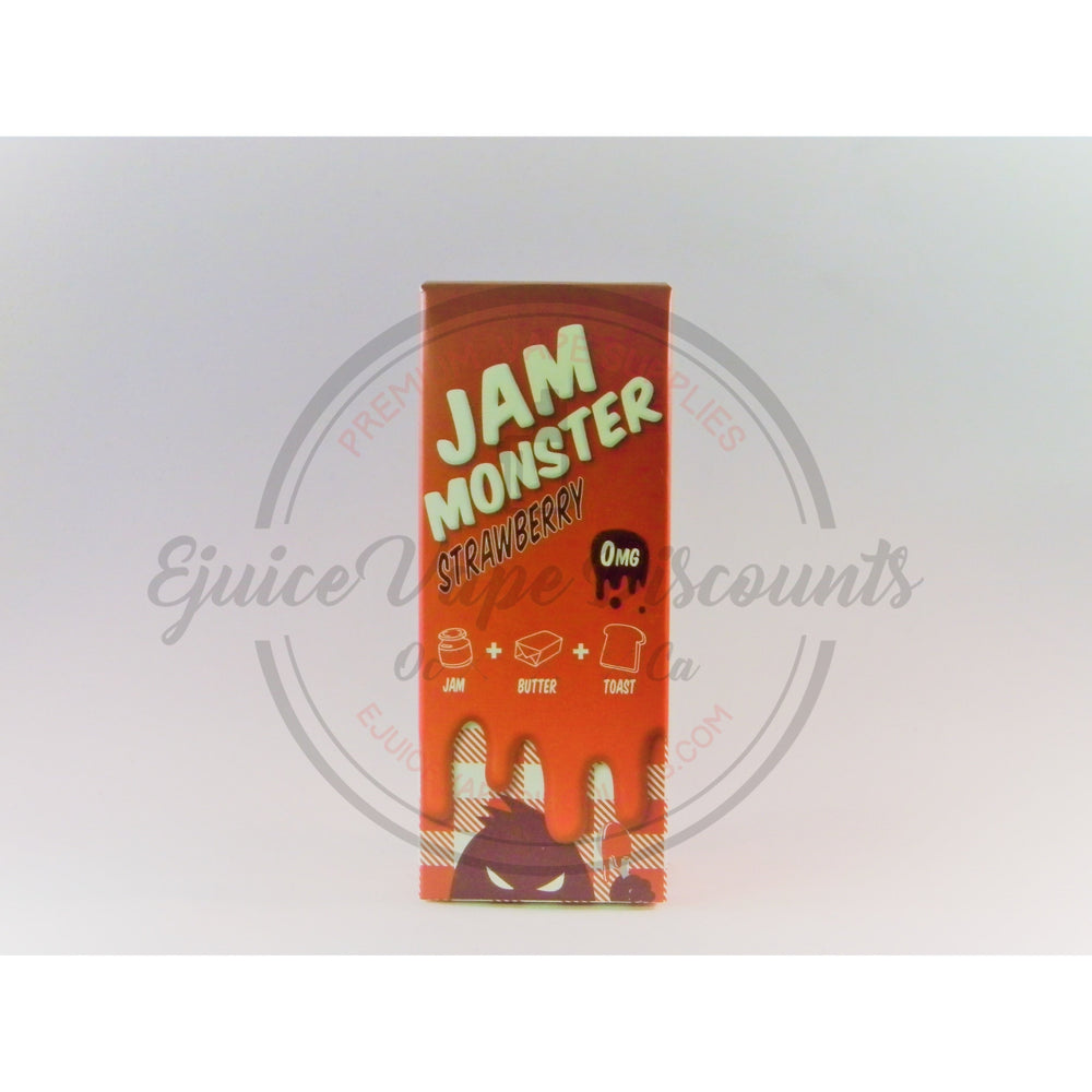 Jam Monster Strawberry EJuice 100ml - Ejuice Vape Discounts