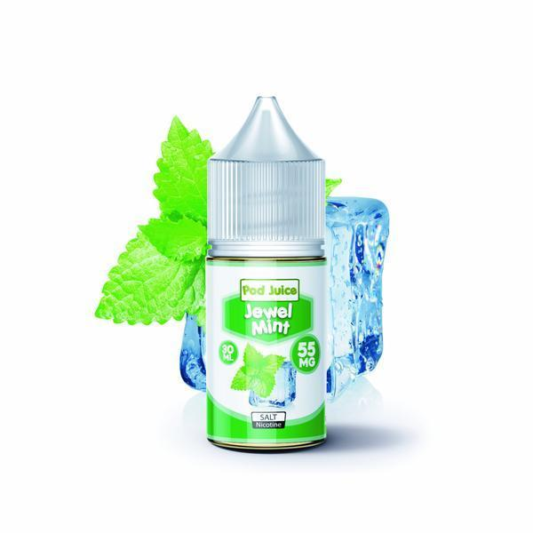 Pod Juice salts 35 Jewel Mint salt by Pod Juice 30ml