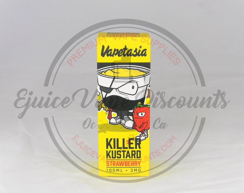 Killer Kustard Strawberry by Vapetasia 100ml - Ejuice Vape Discounts