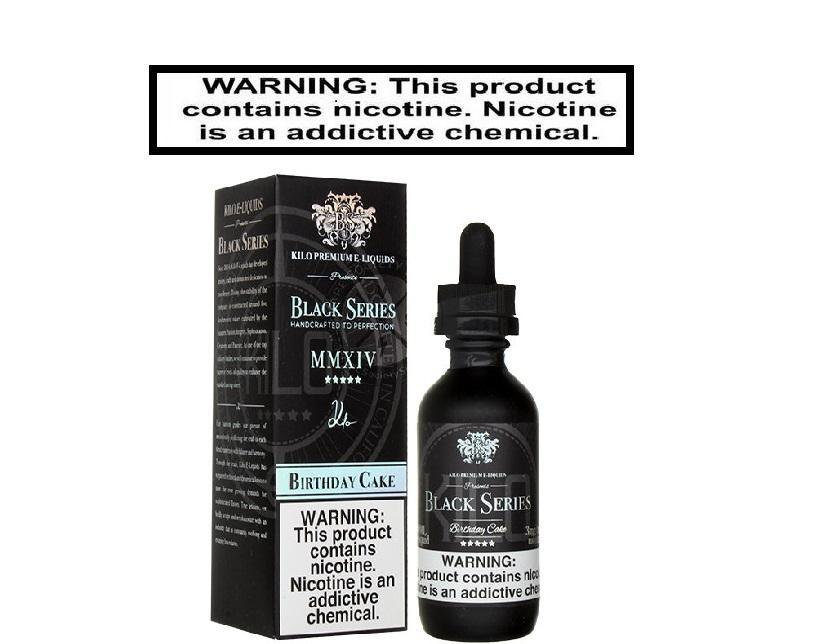Kilo Black Series Birthday Cake EJuice 60ml