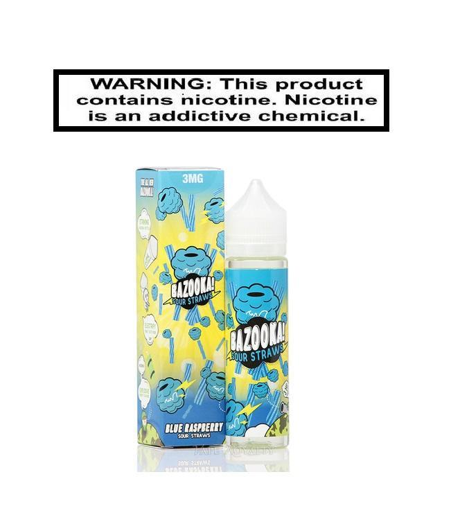Kilo Sour Straws Blue Raspberry EJuice 100ml