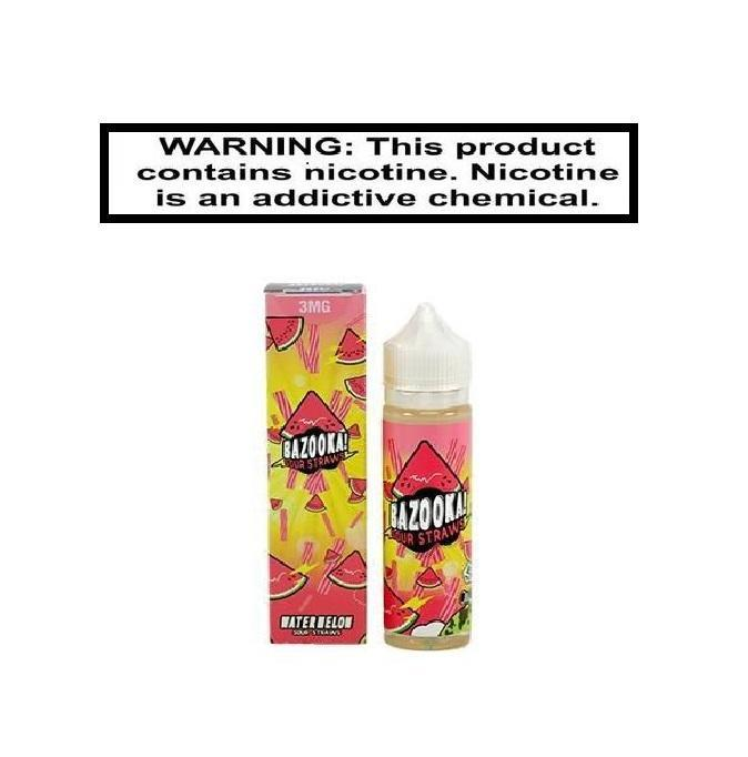 Kilo Sour Straws Watermelon EJuice 100ml
