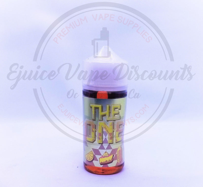 Lemon Crumble Cake by The One 100ml - Ejuice Vape Discounts