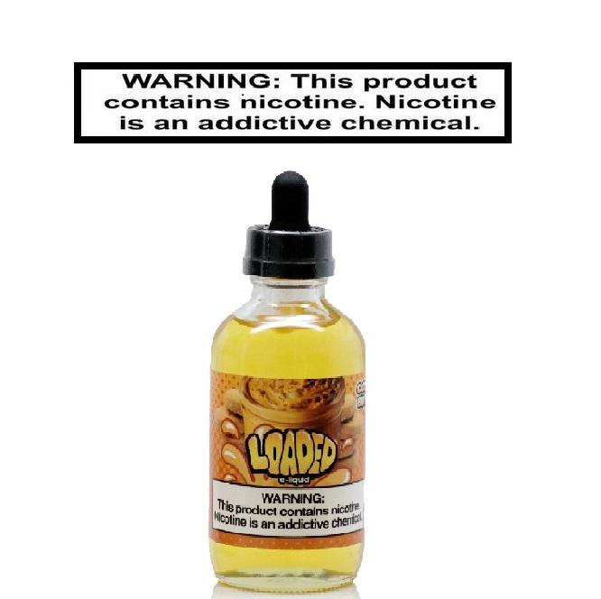 Loaded Ejuice 0 Loaded Cookie Butter 120ml