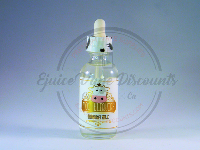 Moo E-Liquids Banana Milk 60ml - Ejuice Vape Discounts