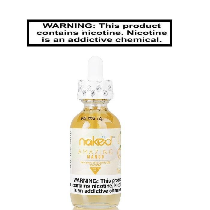 Load image into Gallery viewer, Naked 100 Amazing Mango 60ml - Ejuice Vape Discounts