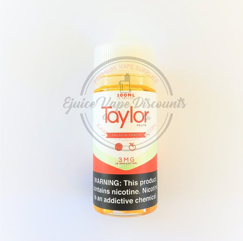 Passion Peach 100ml by Taylor Desserts