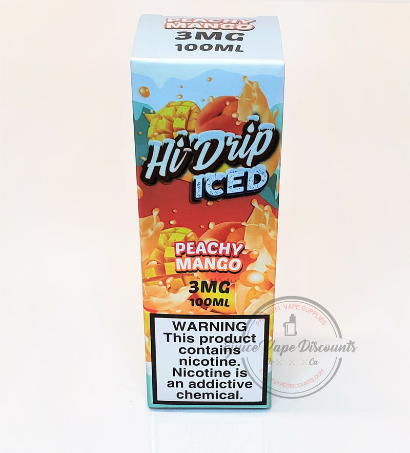 Peachy Mango ICED by Hi Drip 100ml