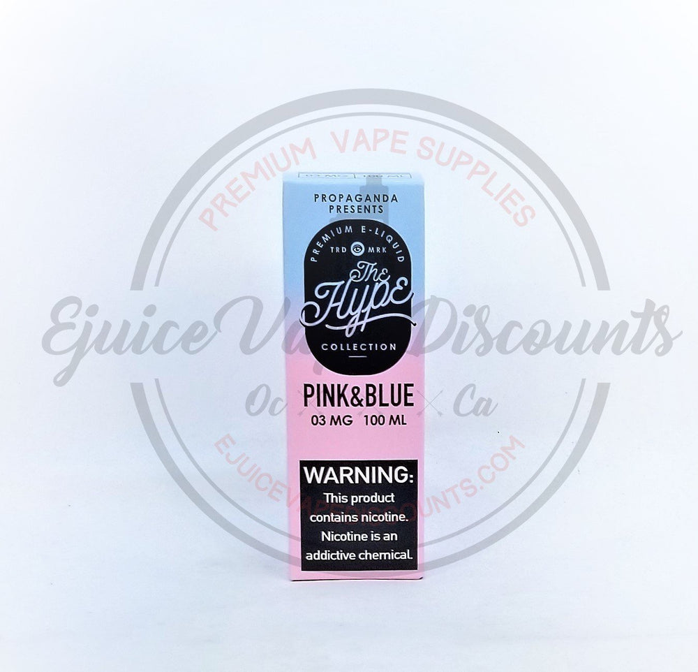 Pink and Blue by Propaganda 100ml - Ejuice Vape Discounts