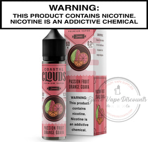 Coastal Clouds Ejuice 0 Pog by Coastal Clouds 60ml