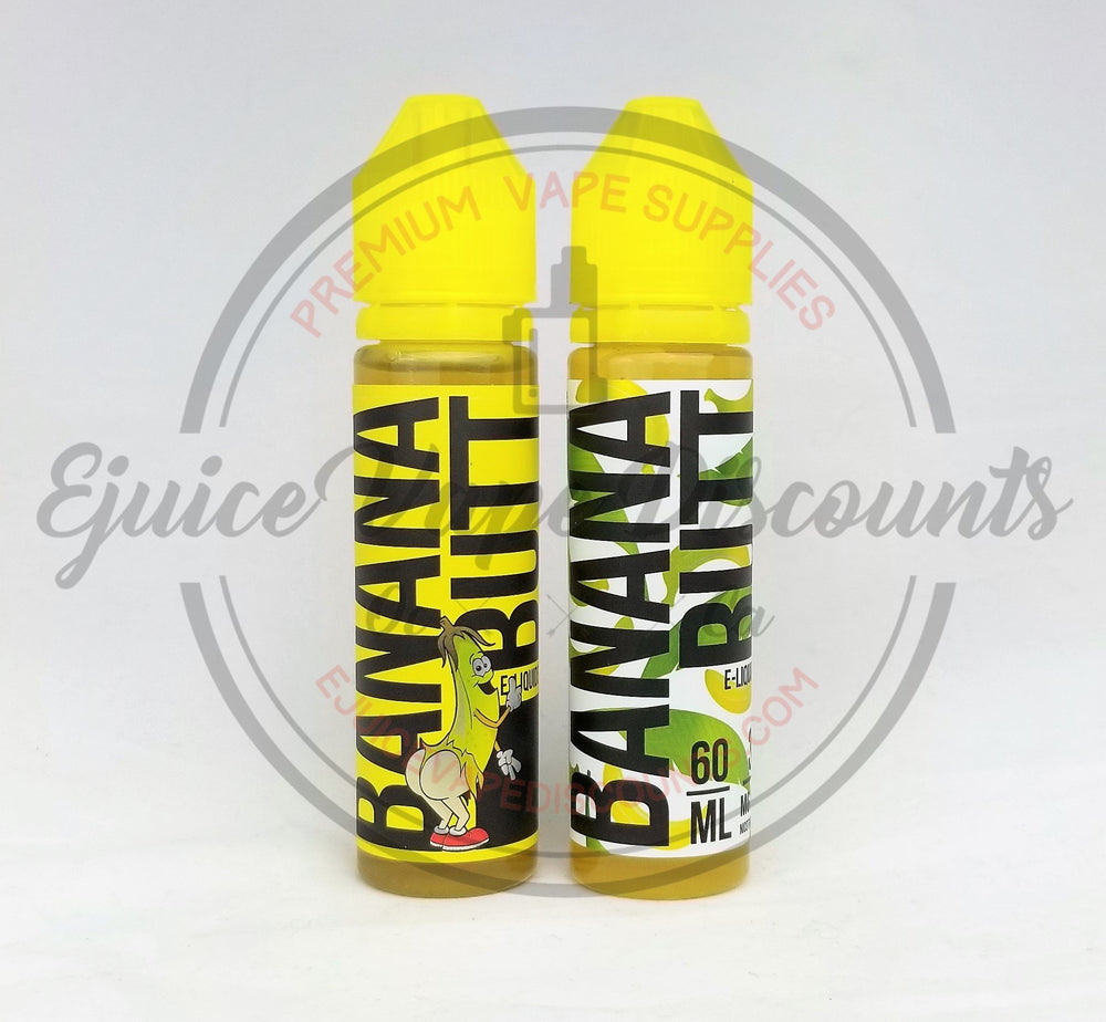 Load image into Gallery viewer, Right cheek by Banana Butt 60ml - Ejuice Vape Discounts