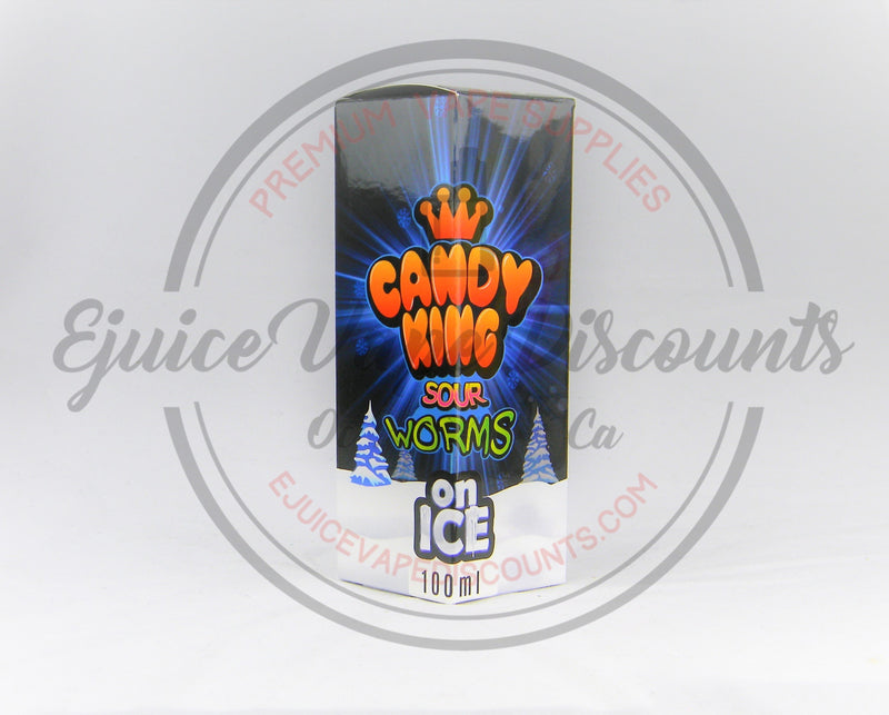 Sour Worms on ICE 100ml by Candy King - Ejuice Vape Discounts