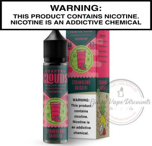 Load image into Gallery viewer, Coastal Clouds Ejuice 0 Strawberry Daiquiri by Coastal Clouds 60ml