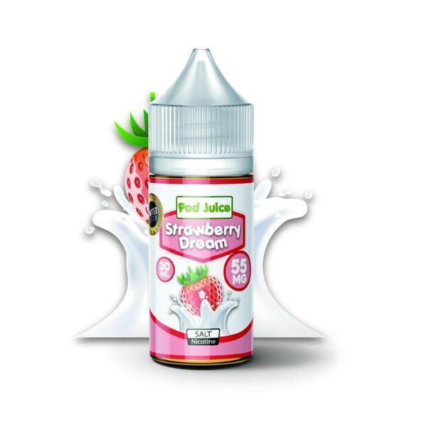 Strawberry Dream salt by Pod Juice 30ml