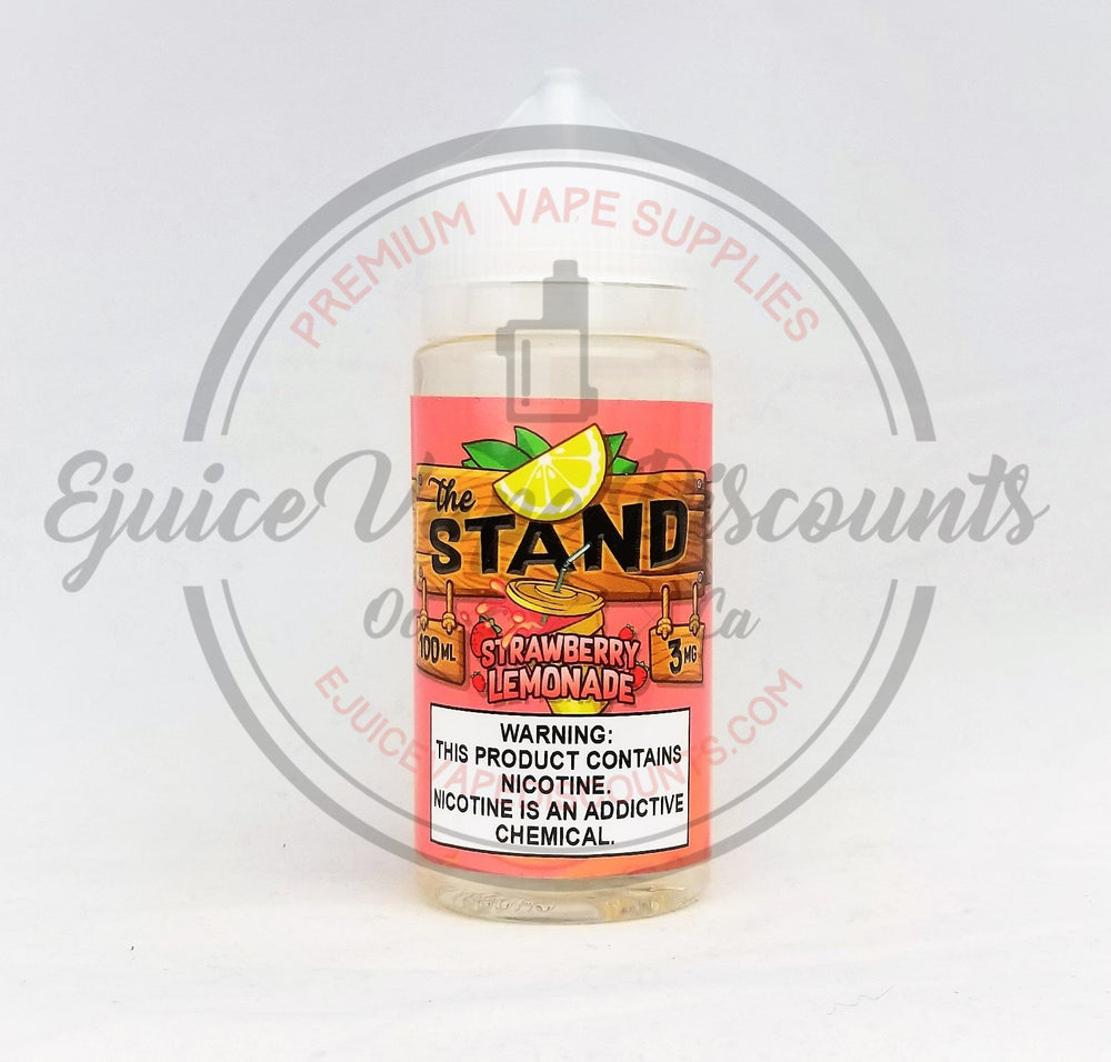 Strawberry Lemonade by The Stand 100ml