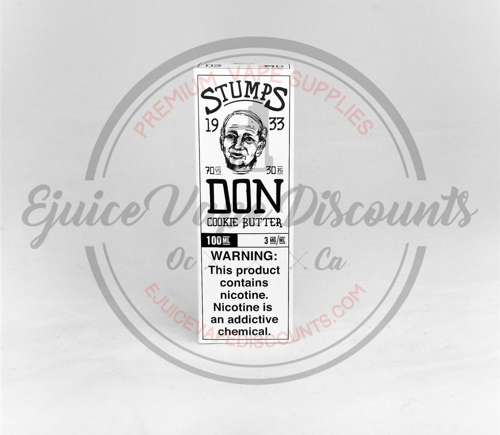 Load image into Gallery viewer, Stumps Don 100ml by Charlies Chalk Dust - Ejuice Vape Discounts