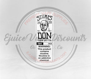 Stumps Don 100ml by Charlies Chalk Dust - Ejuice Vape Discounts