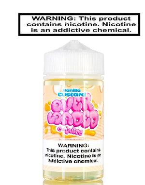 Over Loaded Ejuice 0 Vanilla Custard  Over Loaded by Loaded 120ml