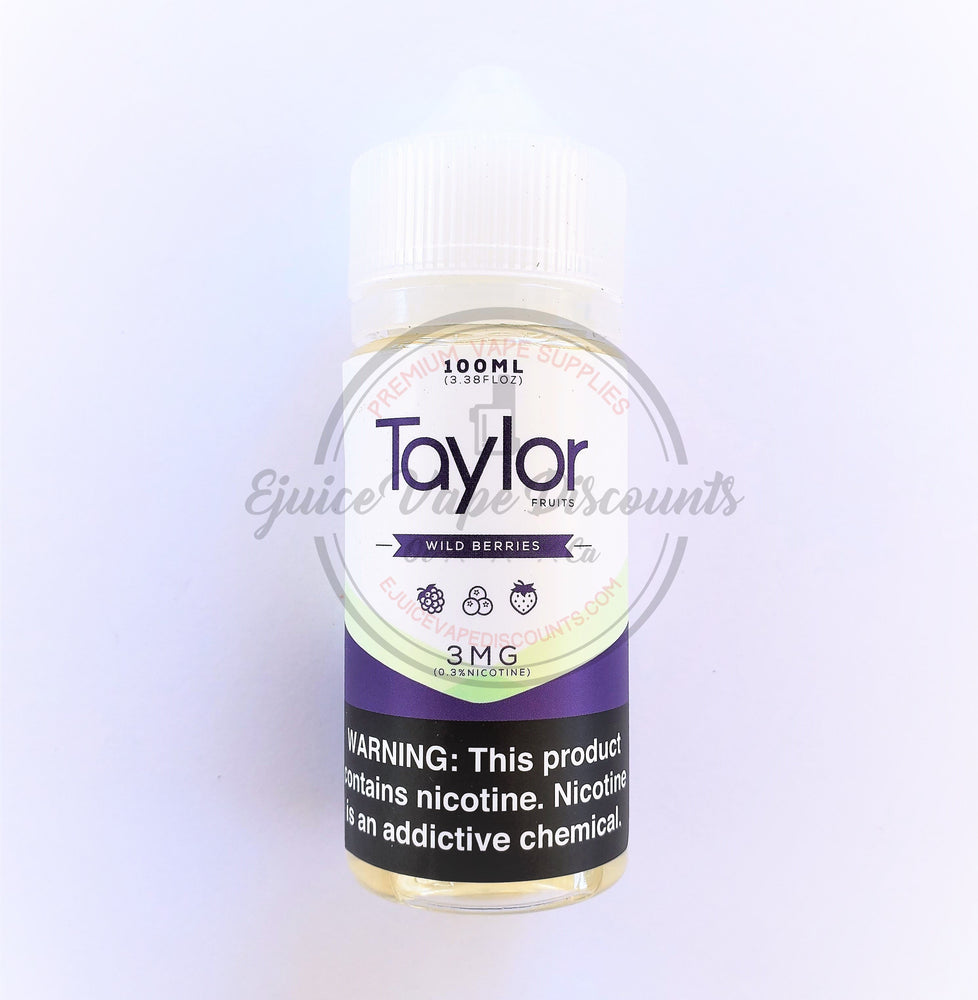 Wild Berries 100ml by Taylor Desserts