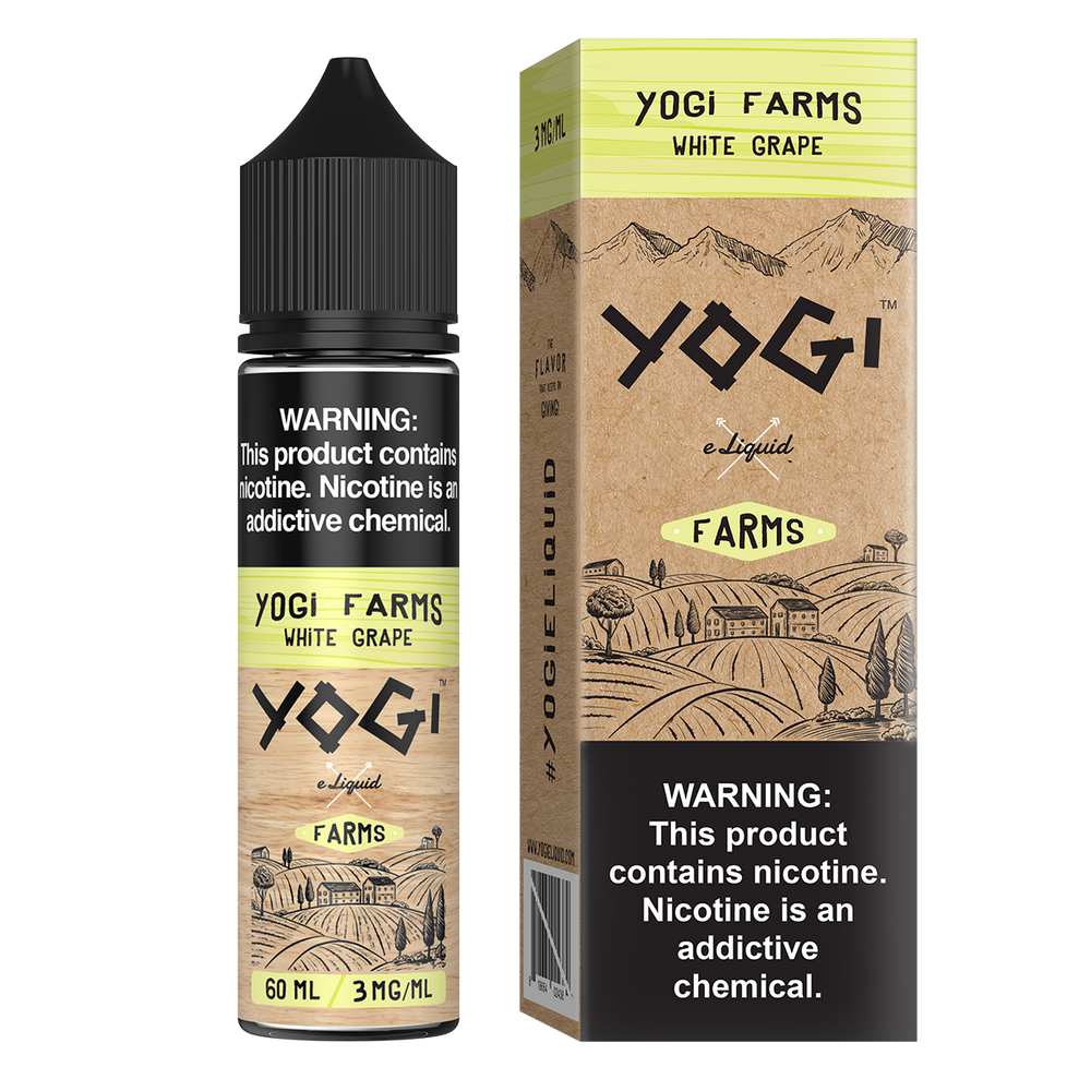 Yogi Ejuice 0 Yogi Farms White Grape 60ml