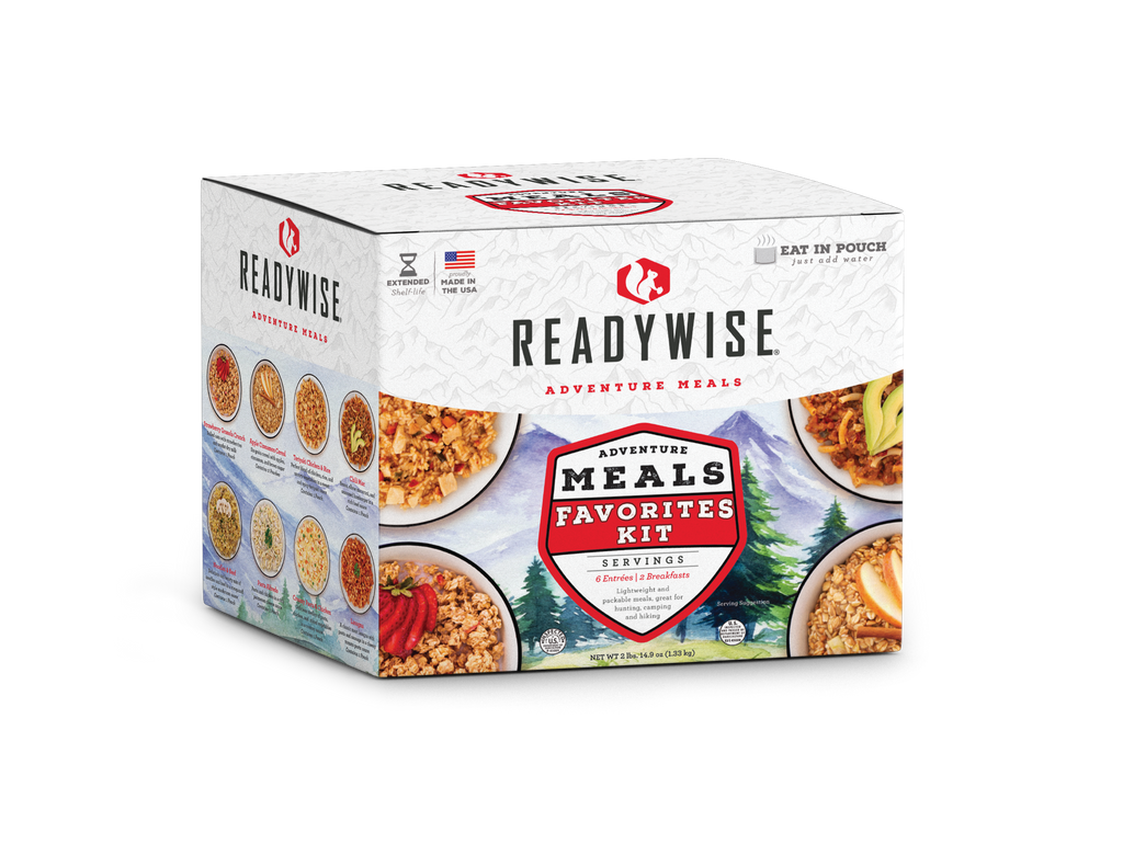 Adventure Meals Favorites Kit (Camping Favorites)