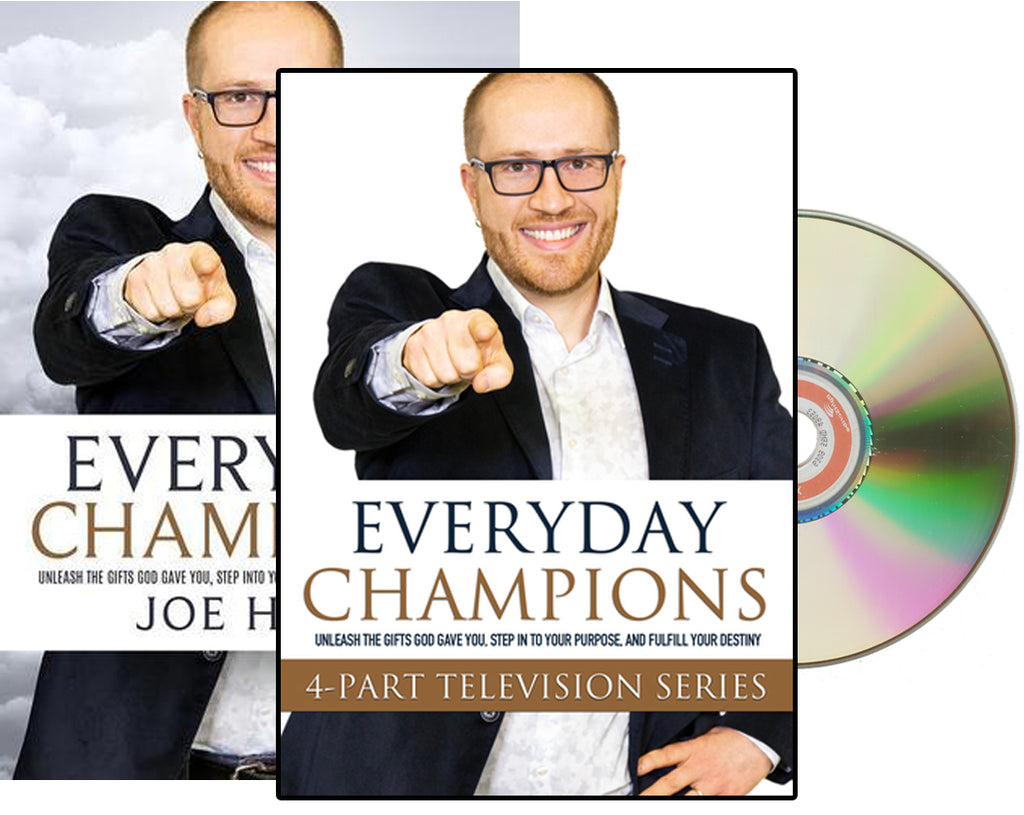 Everyday Champions book with Free Companion DVD
