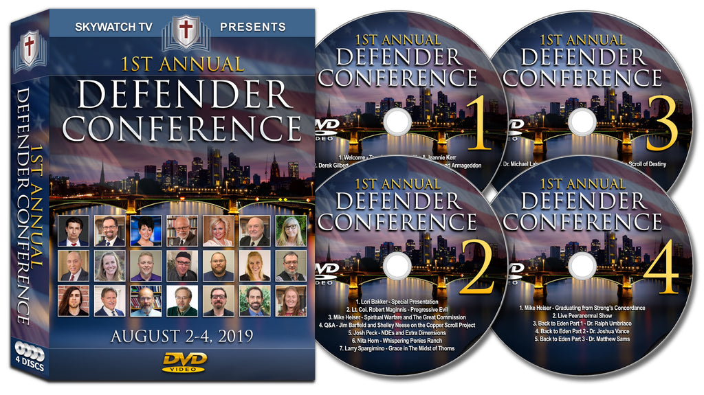 1st Annual Defender Conference DVD Set
