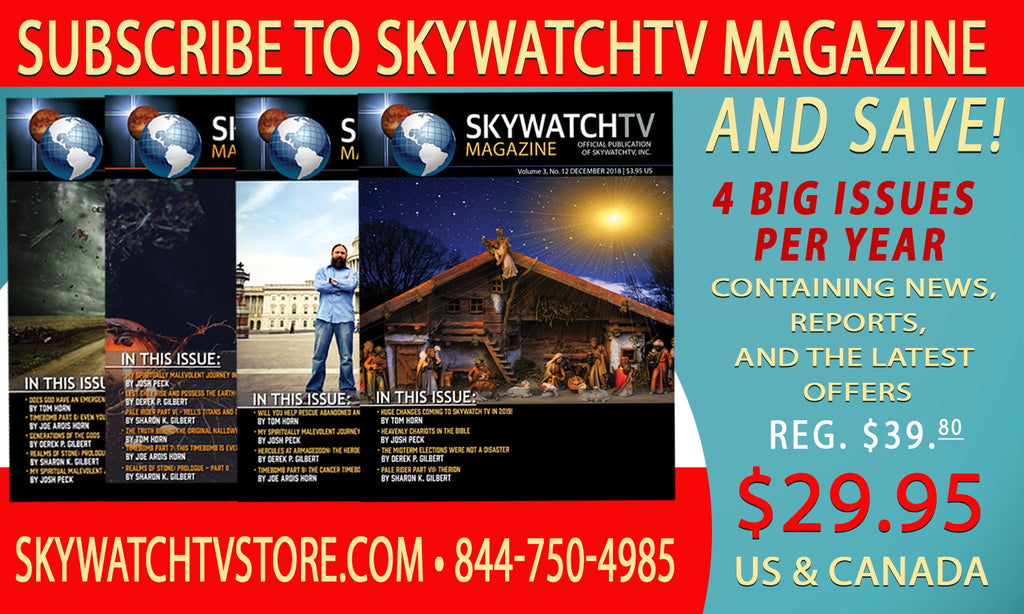 Sky Watch TV Magazine Quarterly Subscription