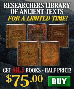 The Researchers Library of Ancient Texts 5 VOLUME SET!