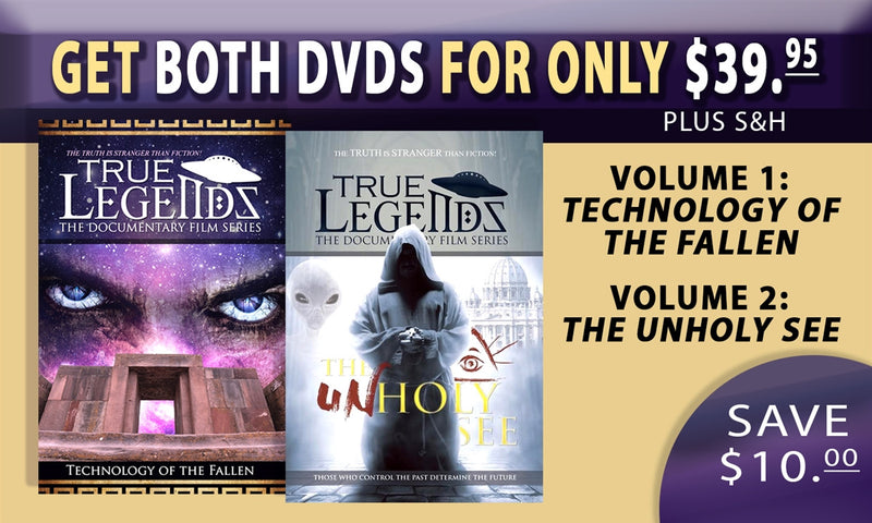 True Legends Documentary 2 DVD Special Offer