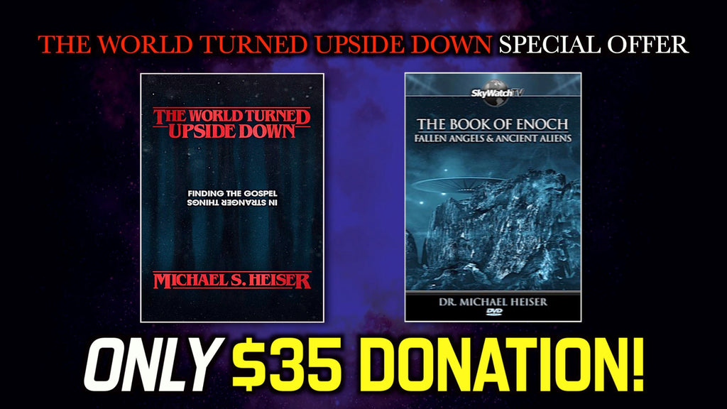 The World Turned Upside Down Special Offer