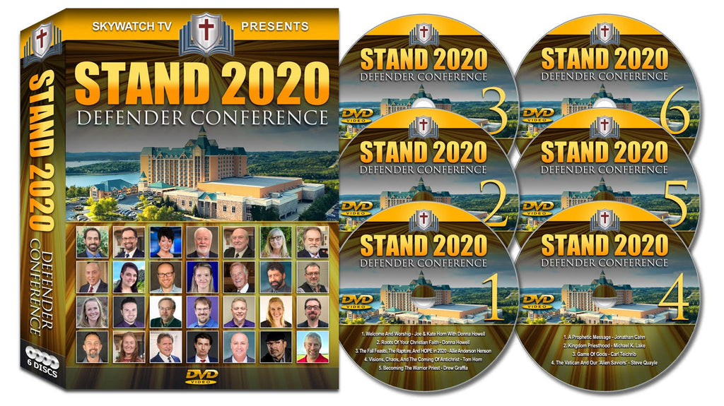 Stand 2020 Defender conference DVD 6 disc box set