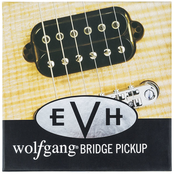 evh� wolfgang bridge pickup black