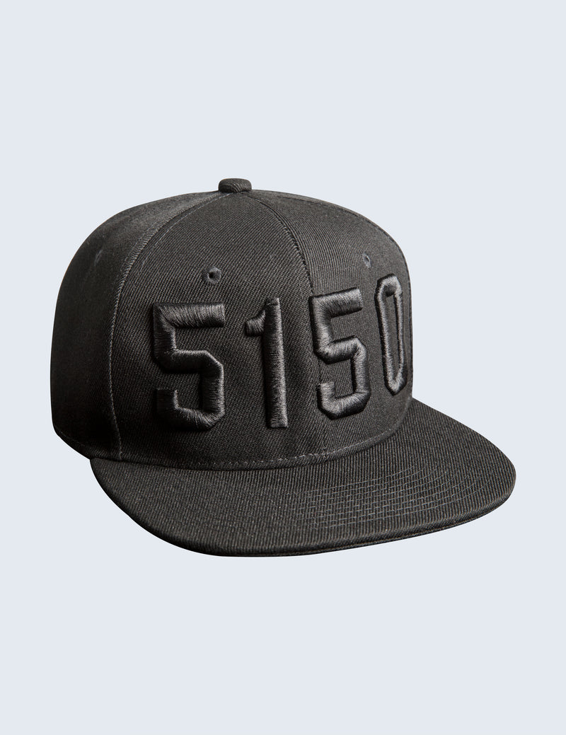 Blackout Snapback Hat