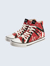 EVH Red High Top Shoes