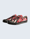 EVH Red Low Top Shoes
