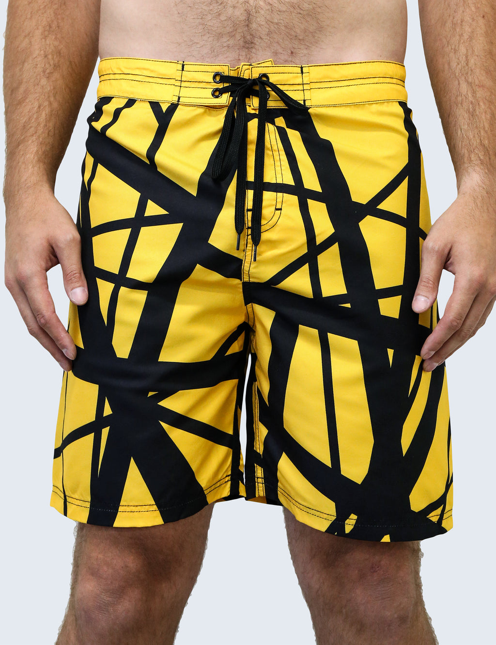 '79 Reverse Board Shorts (Yellow Body/Black)