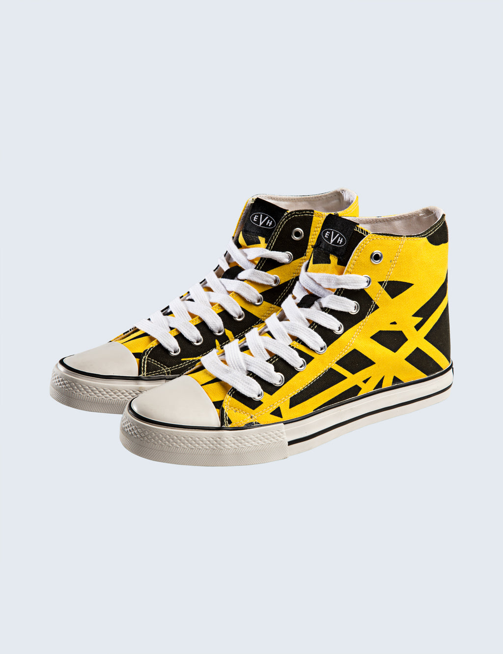 EVH Yellow High Top Shoes