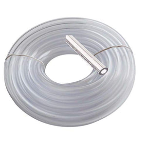 "Vinyl Tubing 3/8"" Id 1/2"" Od 25 Feet Brewing Hose Medical Grade Tubing Beer Draft Line Clear Tubbing Wine and Beer Making Bpa Free Tube Water Fountain Tubing Beverage Line Food Grade"