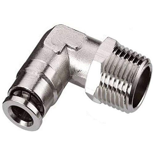 5 pack Push to Connect Air Fittings 3/8