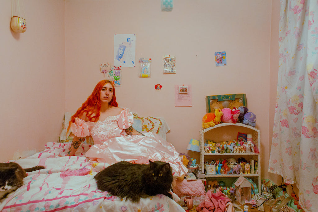 playing dress-up in billy's room, march 2019, puberty