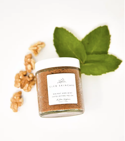 Walnut and Mint Exfoliating Polish