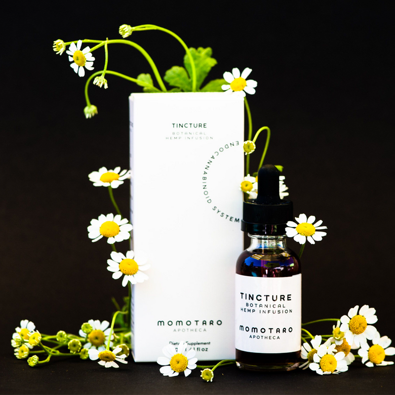 Tincture by Momotaro Apotheca on dark background