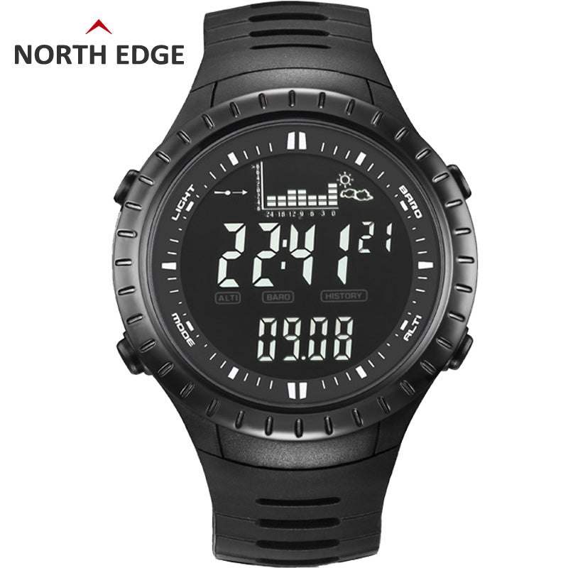 pressure bozlun wrist itm altitude watches temperature sports waterproof compass men