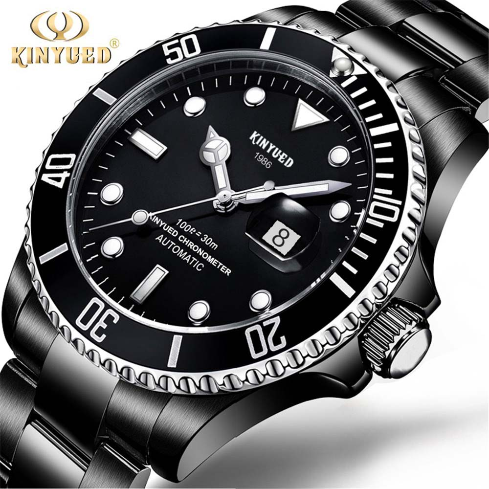 2018 KINYUED Mens High Quality Automatic mechanical Watches Men Top ... c1e854a5a59