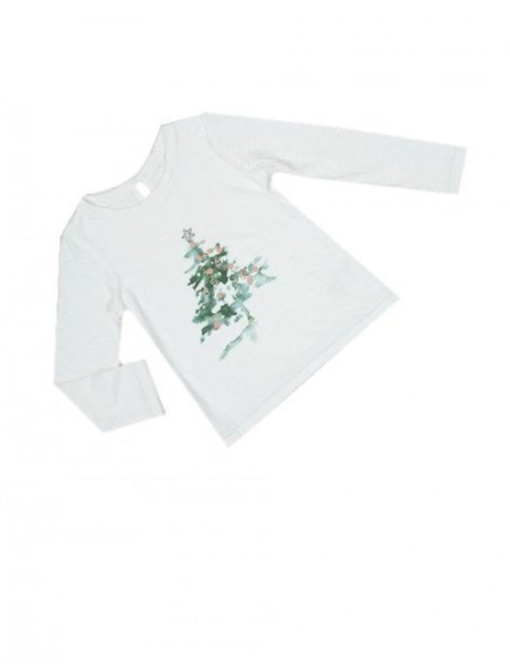 69f152e34 Next Baby Toddler & Girls Christmas Tree Long Sleeve Top - RRP £8.50 -  £9.50!